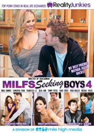 MILFS Seeking Boys 4:  MILFS Seeking Boys 4 Porn Video